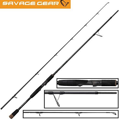 Savage Gear XLNT3 2,13m 40-80g - Spinnrute zum Spinnfischen auf Hechte, Angelrute zum Hechtangeln, Hechtrute zum Spinnangeln