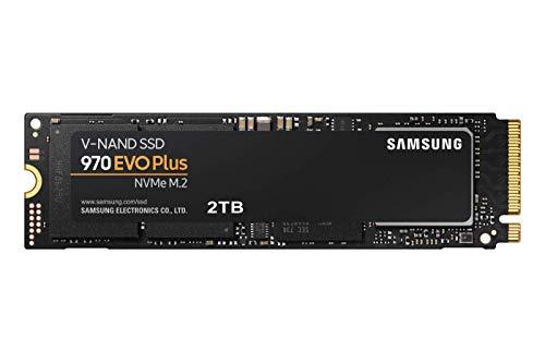 Samsung MZ-V7S2T0BW SSD 970 EVO Plus 2 TB M.2 Interne NVMe SSD (bis zu 3.500 MB/s)