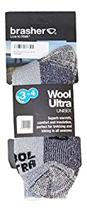 Brasher Wool Ultra Socks 3-4 Season Blue 10.5-13