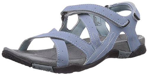 Kamik BALI Damen Knöchelriemchen Sandalen Blau (LT.BLUE/LBL)
