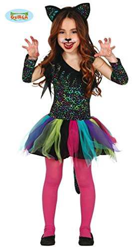 ostüm für Mädchen Gr. 98-146, Größe:140/146 (Leopard Halloween-kostüme Für Mädchen)