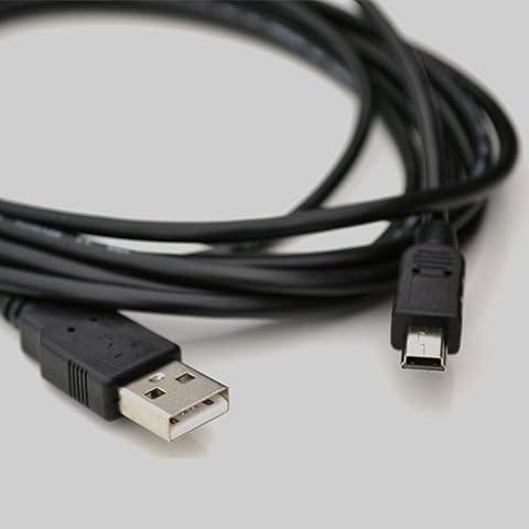 M-One 1,5m 5ft plomb Long Câble de données de charge d'alimentation mini usb pour GPS–Garmin Nuvi 750760205205T 215215W 255W 255WT 550250250W 265265T 255255T 765T 775T 550275(GPS)