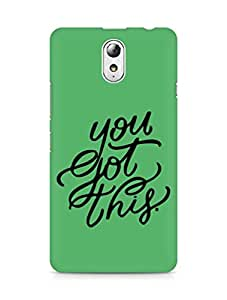 AMEZ you got this Back Cover For Lenovo Vibe P1M