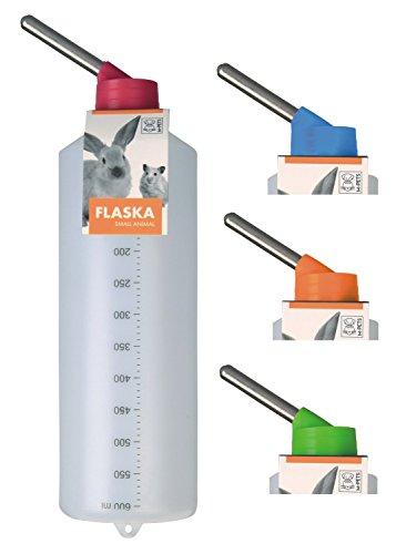 PETGARD Kleintiertränke Nagertränke aus Kunststoff - FLASKA - 600 ml z.B. Kaninchen