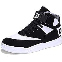 4b2d524955392 MUOU Uomo Sneaker Scarpe da Corsa Scarpe da Ginnastica Uomo Sportive  Fitness Running Casual Nero