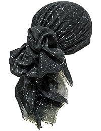 Saisonale Quadratische Kopftücher Haarverlust, Krebs - Damen Kopftuch
