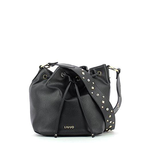 Eimer Tasche Angers black_black, schwarz