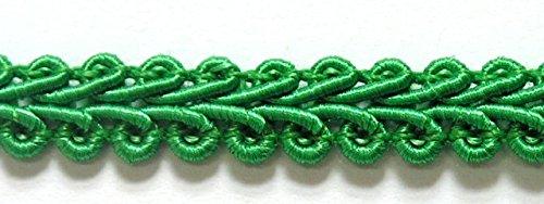 32m Posamentenborte 6mm breit Farbe: Grün 2318-19