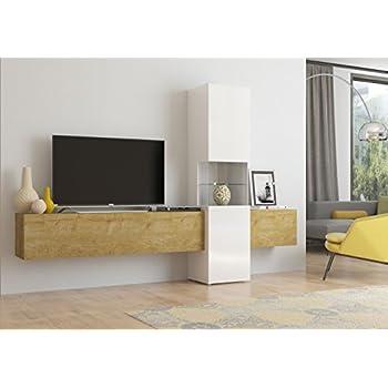 Wohnwand | Mediawand | Wohnzimmer-Schrank | Fernseh-Schrank | TV ...