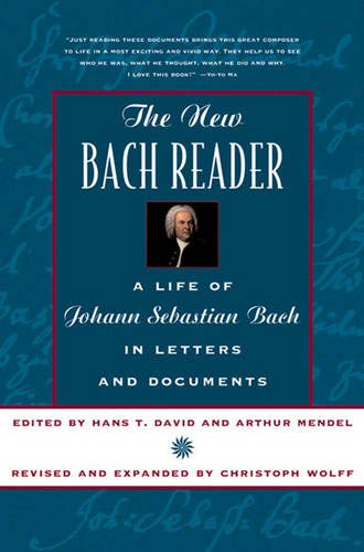 New Bach Reader: Life of Johann Sebastian Bach in Letters and Documents - 9780393319569
