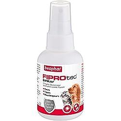 Beaphar - FIPROtec, spray anti puces, tiques et poux - chien, chiot, chat et chaton - 100 ml