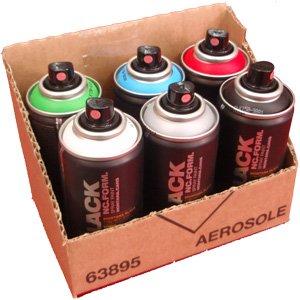 montana-black-spruhdosen-pocket-cans-150ml-vorratspack-6-verschiedene-farben