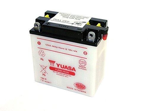YUASA-Batterie HONDA 175ccm CL175 Scrambler Baujahr 1968-1973 (YB9-B) Honda Cl175