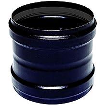 Tronchetto hembra / dn hembra 100 para estufa de pellets o de madera tubo de acero