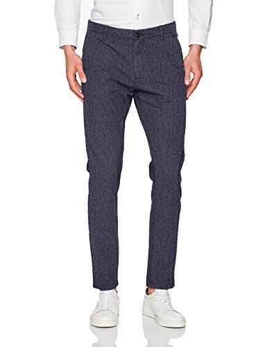 SELECTED HOMME Herren Hose Shharval Dark Sapphire Slim St Pants Sts Blau (Dark Sapphire)