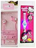 Best Kid Earphones - GoMerryKids Combo Hello Kitty Earphones and Glowing Light Review