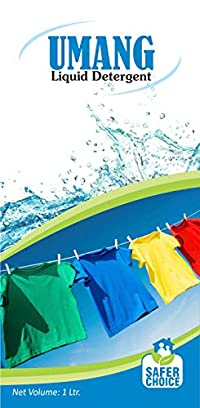 Umang Liquid Detergent, 1 Kg, 1-Piece - Pack Of 4