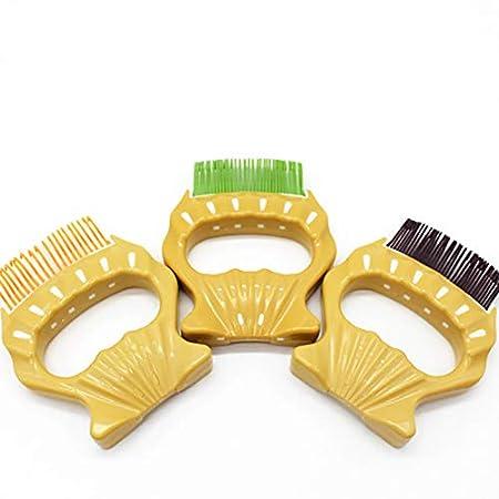 OPSLEA 1PC Pet Comb Plastic Shell Massage Comb Cat Brush