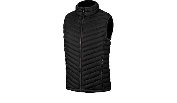 Salewa Fanes Dwn M Vst Fitness Vest for Man, color Black