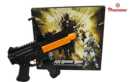 Premsons Portable Virtual Reality AR Game Gun with Cell Phone Stand Holder for iPhone Android Smart Phone