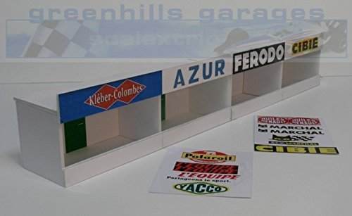 Greenhills Scalextric Slot Car Building Reims Pit