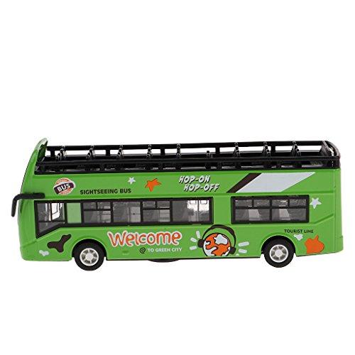 sharprepublic Juguete Modelo De Autobús Turístico con Sonido Y Luz De 7...