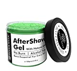 #1: No Burn After Shave Gel for Men with AloeVera, Neem & Tulsi, 100 Grams | Alcohol Free | Natural |