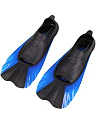 Forfar Snorkel buceo pie Flipper 1 par de Verano snorkel Natación aletas Aletas de buceo pies Equipo flipper Entrenamiento portátil de peso ligero