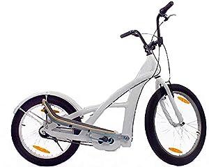 3GBikes Stepperbike Basic 24 Weiss glänzend - Fitness Crosstrainer...