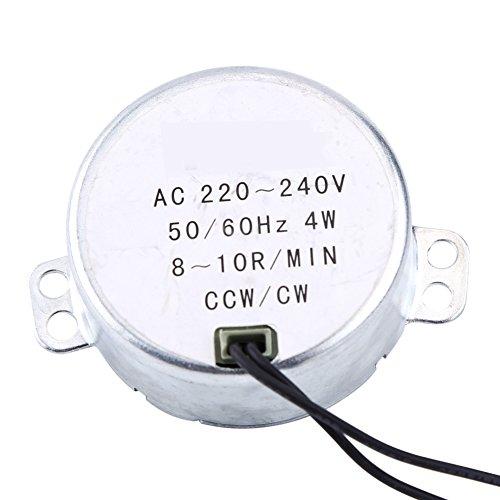 Sincronizador sincrónico placa giratoria Motor 50/60Hz