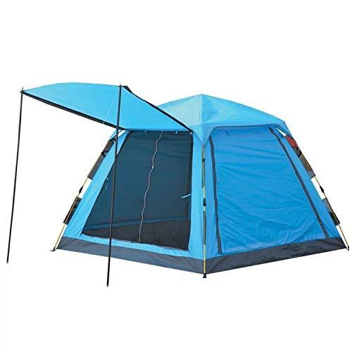 FFJJQAN Outdoor leichtes Pop Up Wurfzelt 3-113 Personen Zelt Camping Festival Sekundenzelt Sport & Freizeit campingzelt wasserdicht -