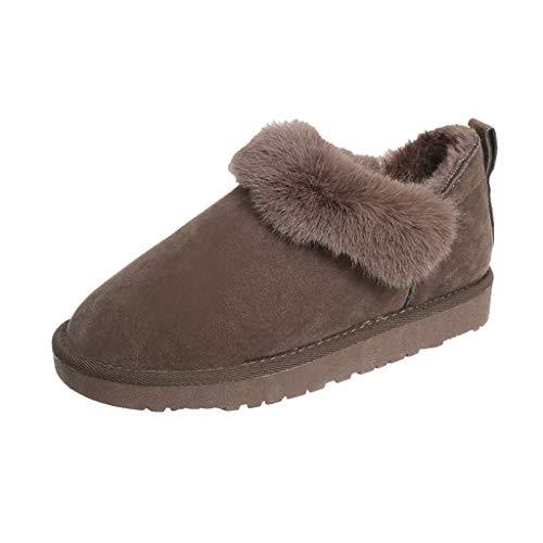 Stivali da Neve Donna Trekking Scarpe Inverno Impermeabili Outdoor Pelliccia Sneakers Scarpe da Trekking Donna Stivali da Escursionismo Stivali Invernali da Neve Outdoor
