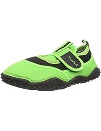 Playshoes Unisex Child UV Protection Aqua Shoe Neon, Beach & Pool Shoes