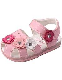 Huhua Sandali Bambine, Rosa (Pink), 38-38.5 EU