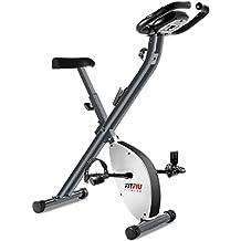 Fitfiu Best-200 Bicicleta Estática Plegable, Unisex Adulto, Blanco, Talla Única