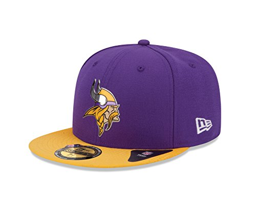 New Era 2015NFL Draft On Stage 59Fifty Fitted Cap, unisex, violett