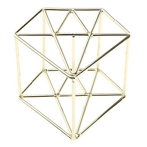 B Blesiya Premium Trockner Wäscheständer Display Ständer Halter für Make-up Schwamm Puderquaste Sponge Ei - Gold