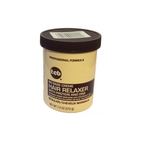 Base Creme Relaxer (TCB No Base Hair Relaxer Creme, Regular, 7.5 Ounce by Tcb)