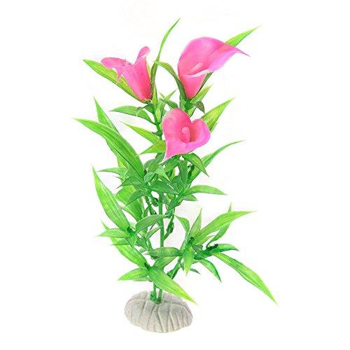 ghfashion Kunstpflanze für Aquarien, Kunststoff, zum Morgenglorie, 1 Stück