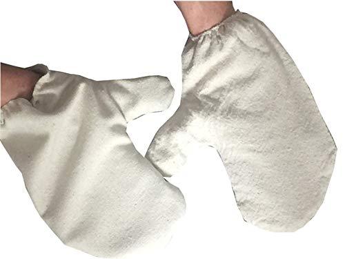 Garshan Seidenhandschuhe - 1 Paar für Wellness und Ayurveda -