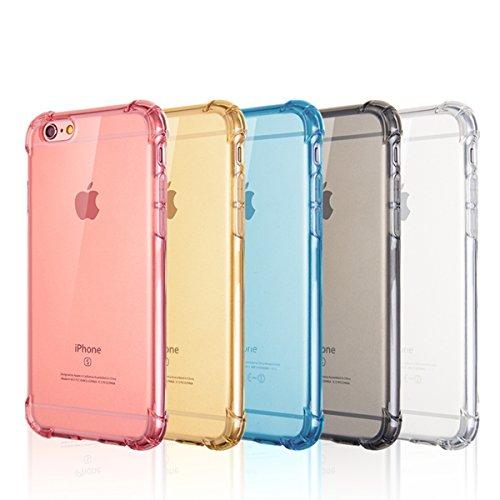 """Coque pour iPhone 7[4.7""""], xhorizon Étui crystal de absorption de choc Etui avec le plastique transparent Plaque de TPU dure et souple Gel pare-choc pour iPhone 7 #5"""
