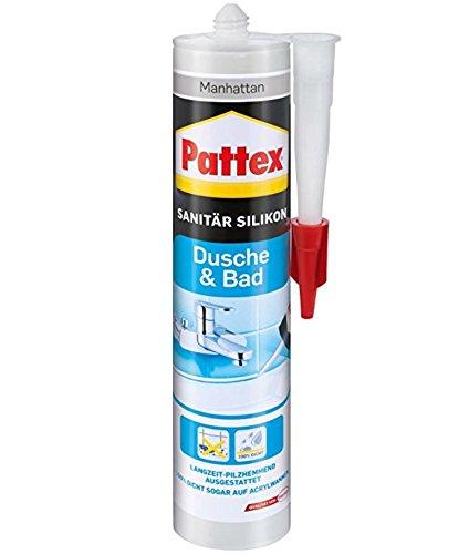 Pattex Dusche und Bad Silikon manhattan, PFDBM