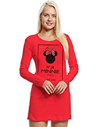 Disney Minnie Mujeres Camisón - Rojo