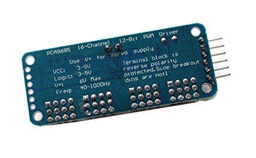 haoyishang pca968516-Kanal 12-bit PWM Servo Motor Driver IIC Schnittstelle Modul für Arduino Roboter Raspberry Pi Shield Modul - 5