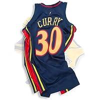 JHJK Camiseta de Baloncesto para Hombre, Pelota clásica de Uniforme de Baloncesto No. 30 Warriors, Tela Transpirable y de Secado rápido, Estilo de colección Conmemorativa