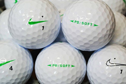 LBC-Sports Nike PD Soft 2015 - AAAA-AAA Lot de 100 balles de golf d'occasion Blanc