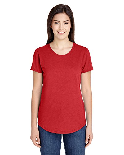 Anvil - T-shirt - Femme Heather Red