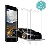 CXDZ Panzerglas Schutzfolie für iPhone 8/7/6s/6,3 Stück[Anti Öl,9H Härte,Anti-Kratzer,Blasenfrei] HD Displayschutzfolie,0.3mm HD Ultra-klar Panzerglas für iPhone6/6s/7/8(4.7Zoll)