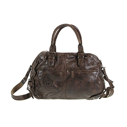The jacky billy kid sac en cuir 44 cm chocolate