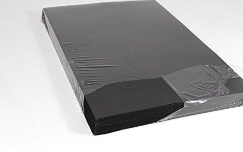 A2 Tonpapier, SPARPACK 250 Bogen in schwarz, 140 g/m² sehr stabil